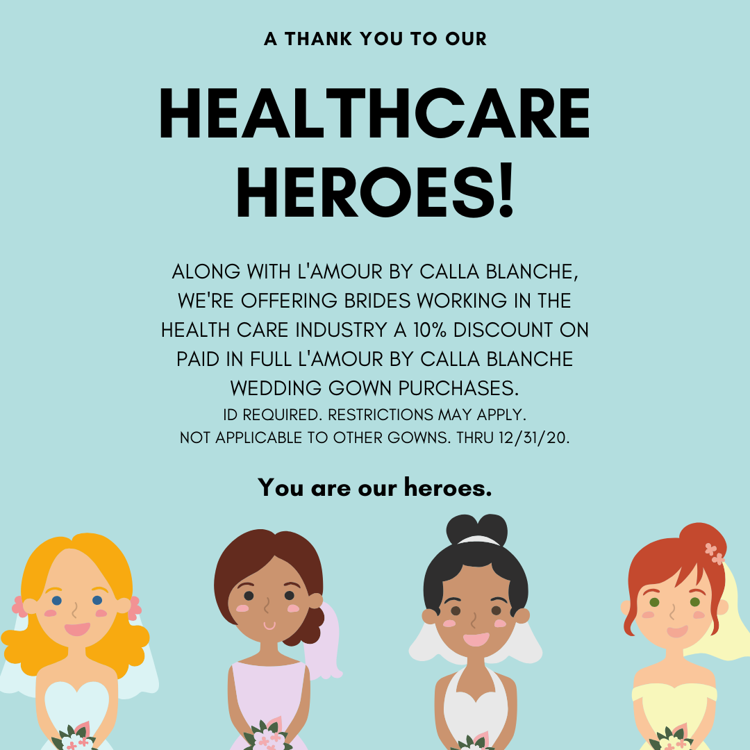 A Thank You For Our Healthcare Heroes