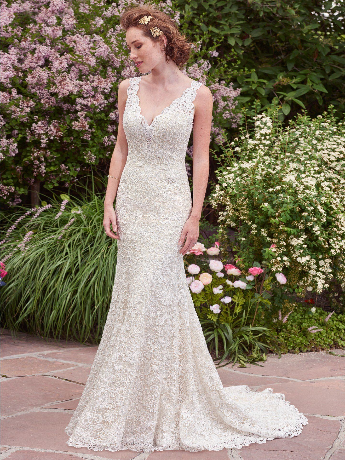 Rebecca Ingram at Suzanne's Bridal Boutique