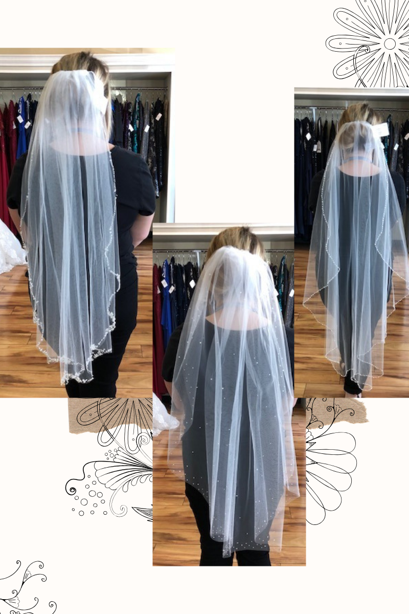 Bridal Veils at Suzanne's Bridal