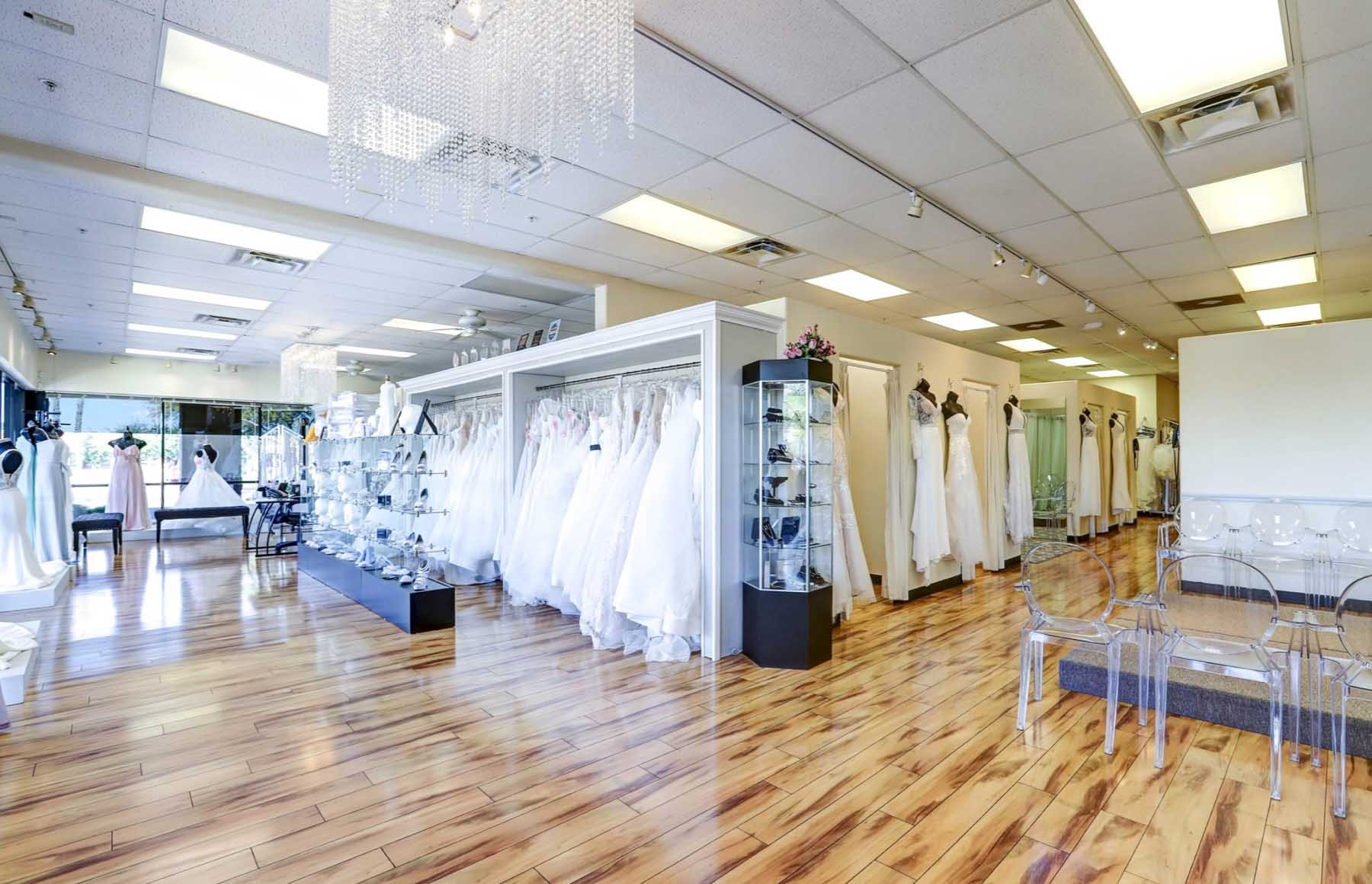 Wedding Dresses showroom